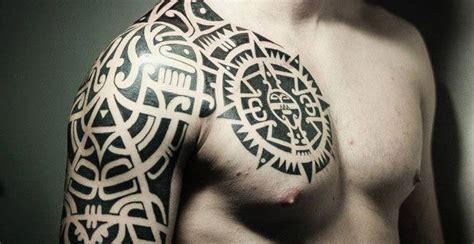 imagenes tatuajes tribales para hombres brazo fotos de tatuajes tribales en la pierna el costado y los