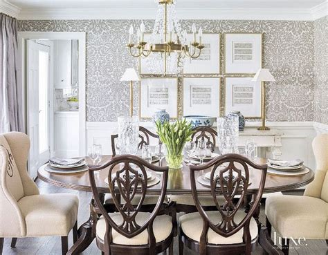 wallpaper for dining rooms dining room wallpaper farrow ball s silvergate
