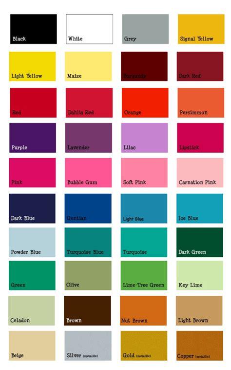 in colors tiffany vinyl designs vinyl colors and names