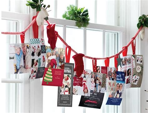 christmas card display christmas card display ideas andrea s notebook