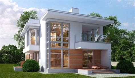 Modern Concrete Home Plans And Designs concrete two story house plans house of samples