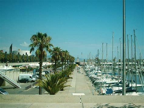 barcellona porto porto turistico di barcellona foto di barcellona