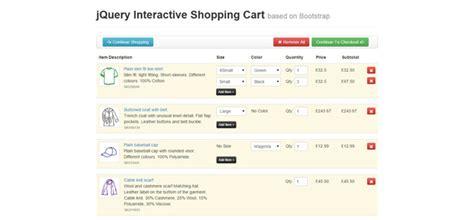 Jquery Shopping Cart Templates 15 Best Jquery Shopping Cart Plugins Jqueryhouse
