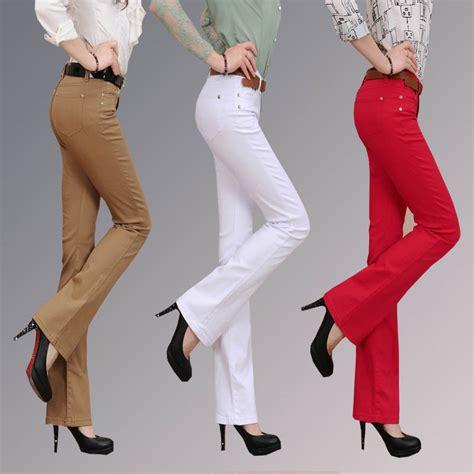 2015 bell bottom jeans 2015 spring elastic bell bottom jeans female spring and