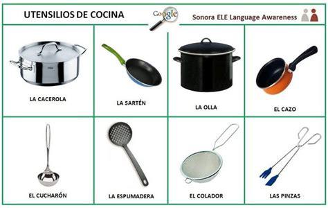 imagenes utensilios de cocina en ingles algunos utensilios de cocina vocabulario pinterest