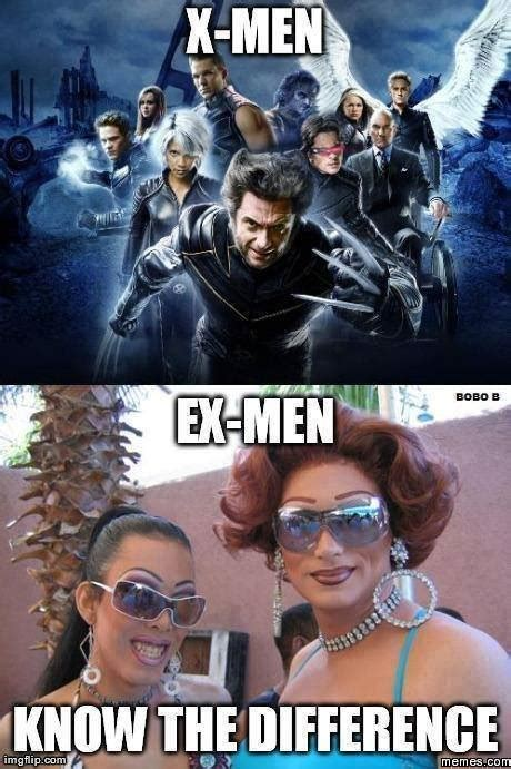 X Men Meme - x men know the difference meme collection