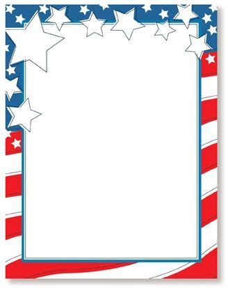printable flag stationery 4th of july printable stationery wedding stationery