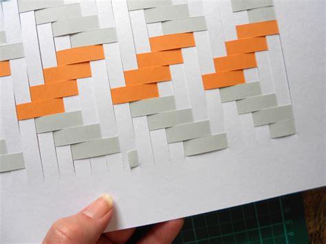 card weaving templates make a woven paper artwork
