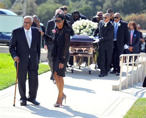 omarosa picture 16 the funeral of michael clarke duncan