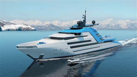 kurt strand unveils futuristic  metre superyacht
