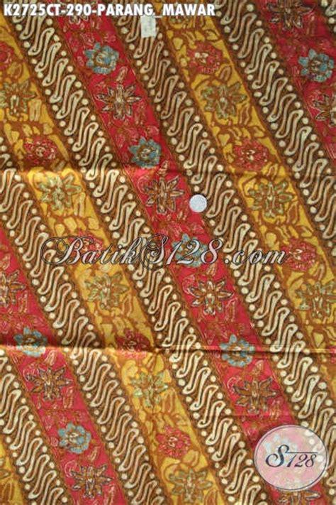 Batik Cap Asli kain batik cap tulis asli dari motif parang mawar
