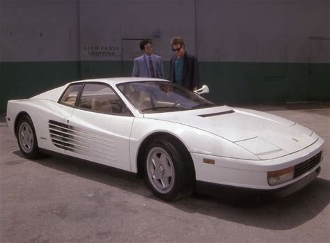 Miami Vice Auto by Imcdb Org 1986 Testarossa In Quot Miami Vice 1984 1989 Quot