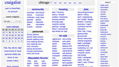 craigslist chicago housing craigslistchicago cars autos post
