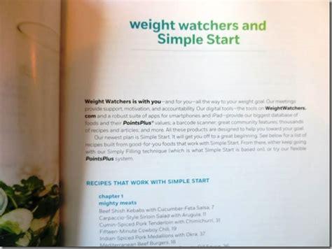 weight watcher simple start recipes weight watchers simple start program