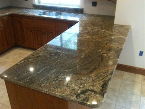 Brown Granite Kitchen Countertops by Custom Macciato Brown Granite Countertops The Cobblers