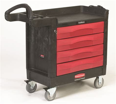 Mobile Cart With Drawers by Material Handling Rigging Trucks Carts