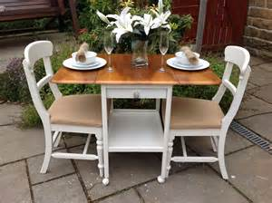 Shabby Chic Small Dining Table Shabby Chic Small Drop Leaf Dining Table Vintage 2 Chairs Shabby Vintage Superior