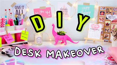 diy desk decor diy desk decor organization desk makeover 2017 make