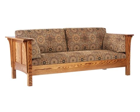 amish upholstery shaker sofa amish furniture designed