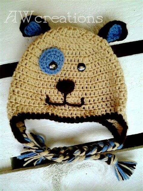 repeat crafter me puppy hat pin by winger on crochet