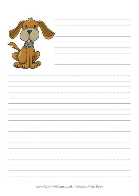 printable animal letterhead 35 free animal writing paper printables writing paper