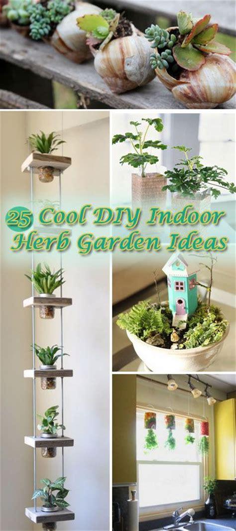 cool diy indoor herb garden ideas hative