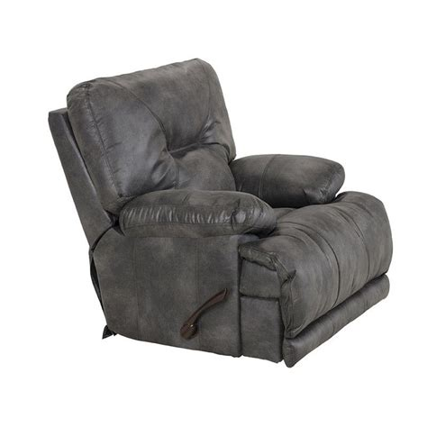 Catnapper Power Recliner Reviews by Catnapper Voyager Power Lay Flat Recliner In Slate
