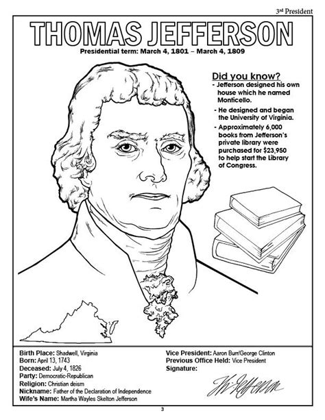 Presidents Coloring Pages by Coloring Books American Presidents Coloring Book