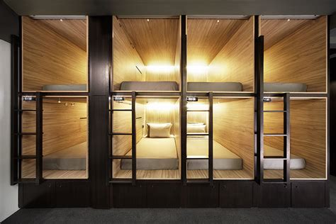 Tiny Bedrooms the pod hotel singapore thecoolist the modern design