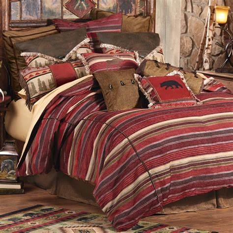 Rustic Bedding Queen Size Boulder Creek Cabin Bed Set