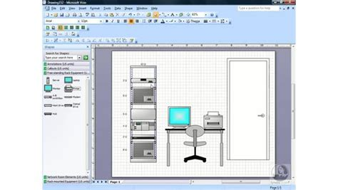 visio infrastructure diagram exle creating a rack diagram