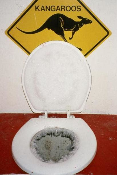 cold toilet seat meaning you didn t spend much time in the bathroom tom roush s