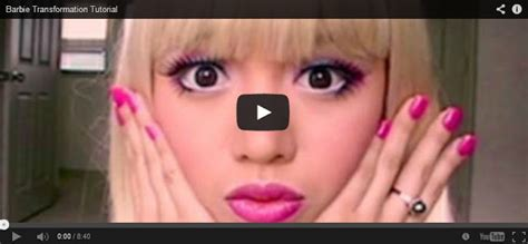 tutorial makeup barbie doll barbie transformation tutorial makeup tutorial