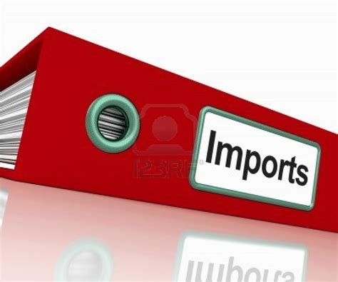 Second Import 15085041 import file shows importing goods and commodities