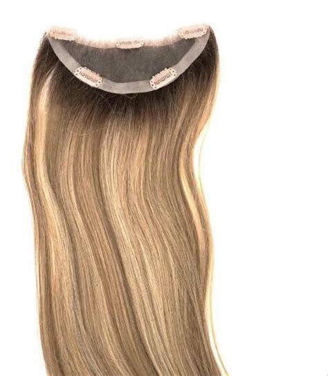 wigs for women with thinning hair easicrown hd 18 inch human hair topper wigs for women with