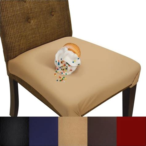 Faux Suede Dining Chair Covers