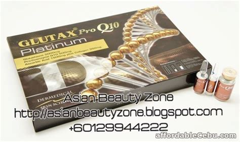 Glutax Platinum Collagen Whitening glutax pro q10 platinum whitening for sale alcantara cebu