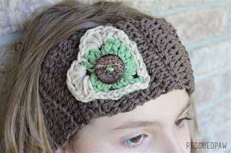 crochet pattern heart headband crochet button heart headband rescued paw designs crochet
