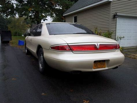 how to sell used cars 1998 lincoln mark viii seat position control sell used 1998 lincoln mark viii lsc low miles in troy new york united states