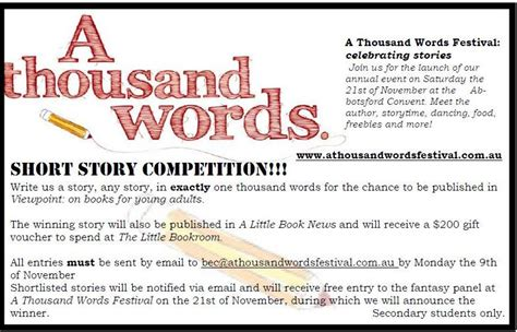 themes short story leaving a thousand words festival and short story competition