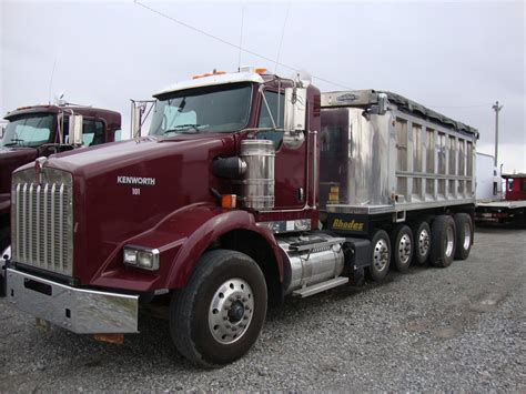 truck ohio kenworth dump trucks in ohio for sale used trucks on