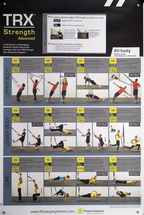 all articles trx training trx all body strength advanced poster power systems
