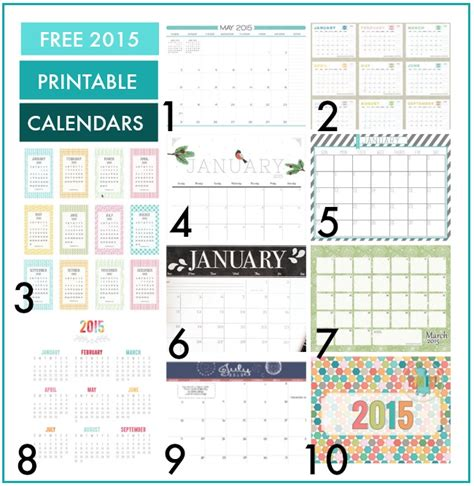 printable calendar 2015 blog quick tips for getting organizated 2015
