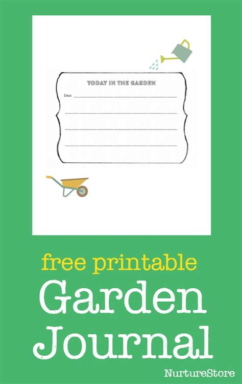 Free Printable Educational Journal Articles | the garden classroom gardens sketching and creative writing