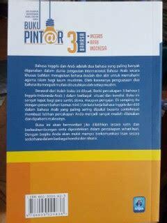 Kamus Lengkap Bahasa Inggris Cover buku pintar percakapan 3 bahasa inggris arab indonesia