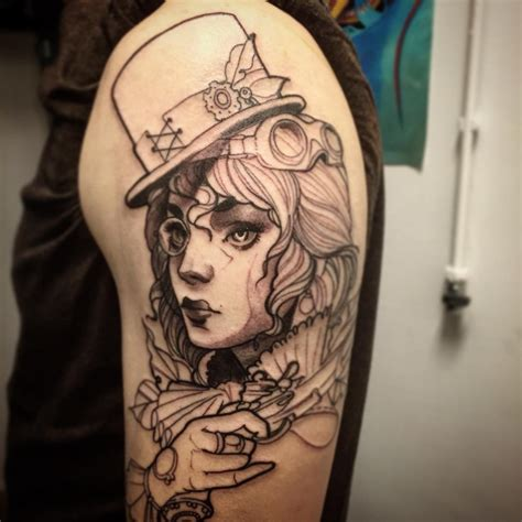 26 steampunk tattoo designs ideas design trends