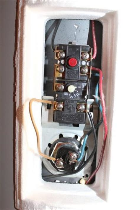 year  water heater  reset switch trip