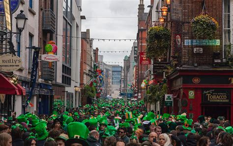 best st s day in ireland how to do dublin on st s day travel leisure