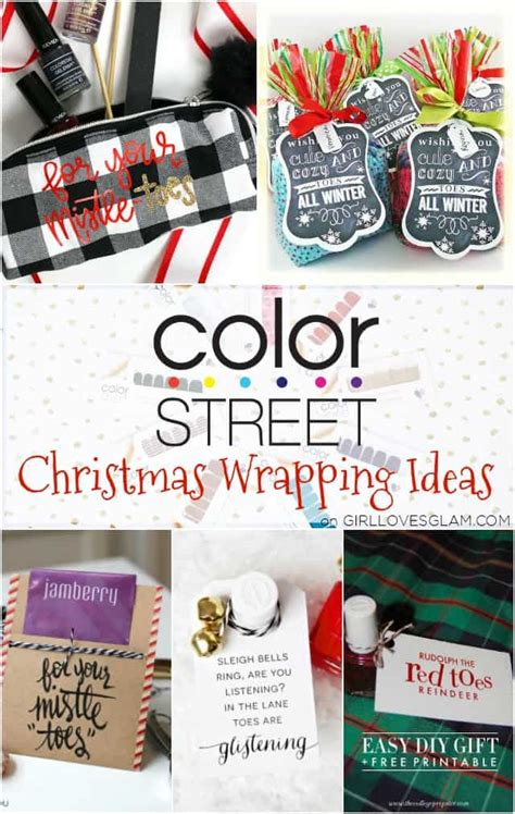 color street gift wrapping girl loves glam