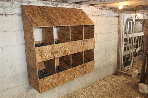 nestboxes green machine farm